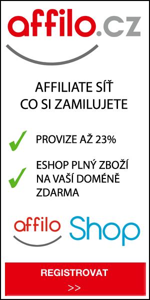 Registrace do AFFILO.cz